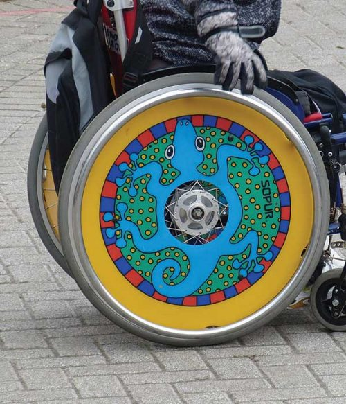 disabled child activity